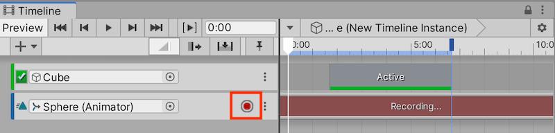 Recording Timeline