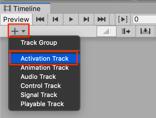 Activation Track