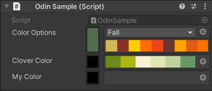 Odin-ColorPalette