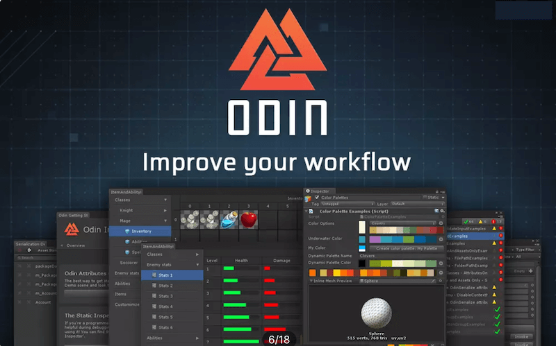 Unity Asset Store『Odin - Inspector and Serializer』