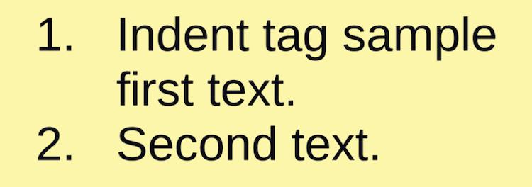 TextMeshProのindentタグ