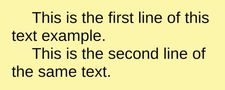 TextMeshProのline-indentタグ