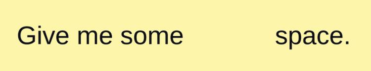 TextMeshProのspaceタグ